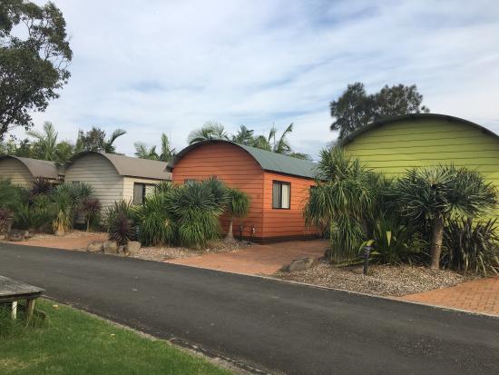 Gerroa, Австралия: Deluxe waterside cabin - sleeps 6
