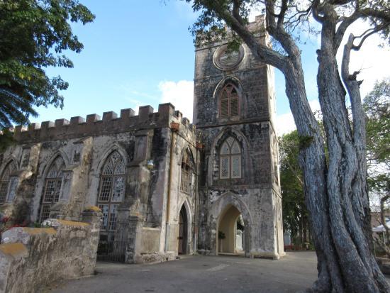Silver Sands, Barbados: St. John's church avec un point de vue unique sur la côte Est