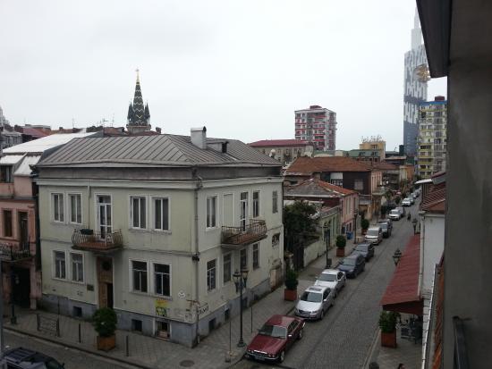 Batumi Hostel: вид с балкона