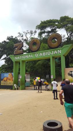 Región de Lagunes, Costa de Marfil: Главный вход