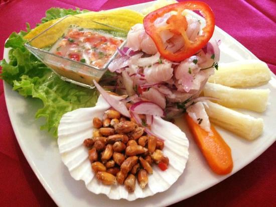 Chikenriko Sabor Peruano: Ceviche de Pescado
