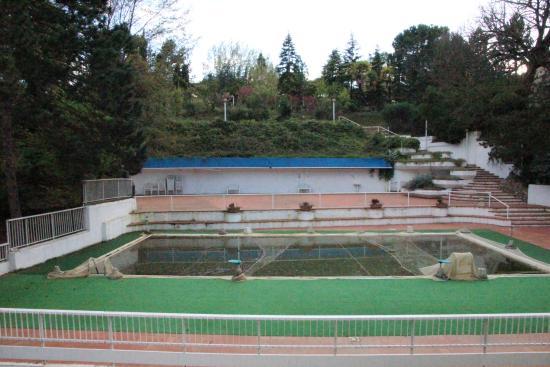 Hotel Moderno Chianciano: Blick auf Pool, Garten