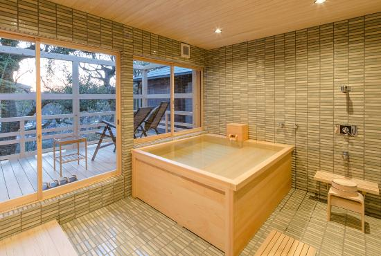 Japanese traditional bathroom