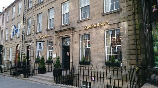Badger Restaurant Castle Street Edinburgh