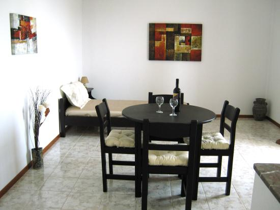 Hotel Porto Diakofti: Living room