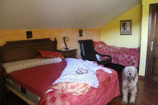 Hotel Rural El Torrejon: La cama más cómoda del mundo