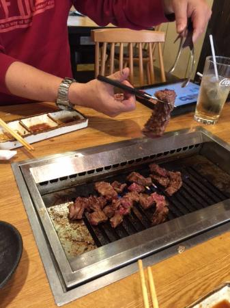 Grilled Beef West Tsurugashima