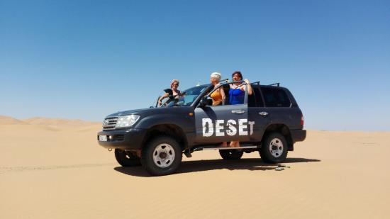 Merzouga, Marruecos: Mi gran aventura en el desierto,con dos amigas y junto a nuestro excelente guia Ali.