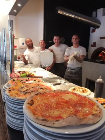 Friendly Staff And Nice Pizza Picture Of The Real Italian