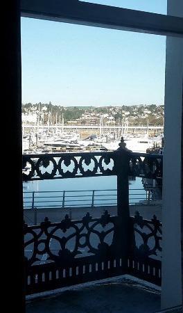 The Regina Hotel: Lovely view of Marina
