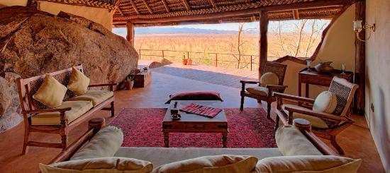 Meru National Park, Kenya: Elsa's Kopje family cottage