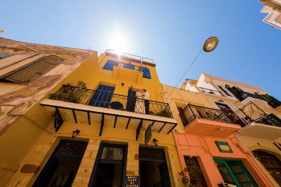 Casa di Pietra: Вид на отель