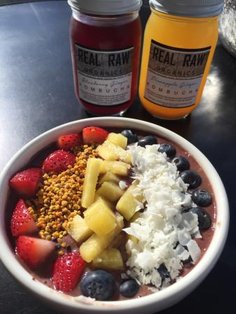 Real Raw Organics Kombucha Brewery and Cafe