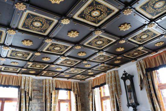 plafond caissons picture of hotel u pava prague tripadvisor. Black Bedroom Furniture Sets. Home Design Ideas