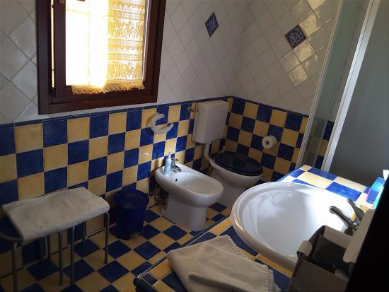 B&B Alla Panoramica: Bathroom