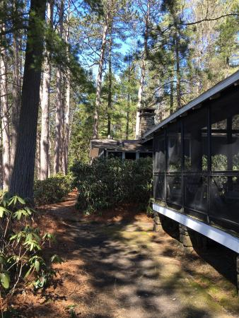 Paul Smiths, Estado de Nueva York: April weekend at White Pine Camp