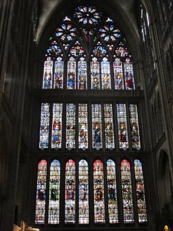 Vitraux Metz metz - vitraux de jacques villon (chapelle du saint sacrement