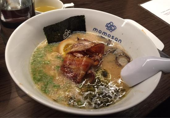 Momosan Ramen Amp Sake New York City Midtown Restaurant