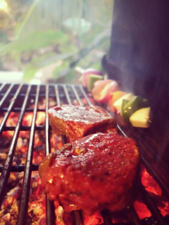 Anjuna, India: grill