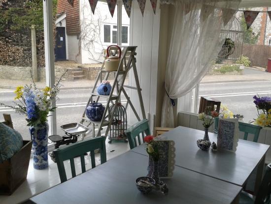 Cocking, UK: tea room