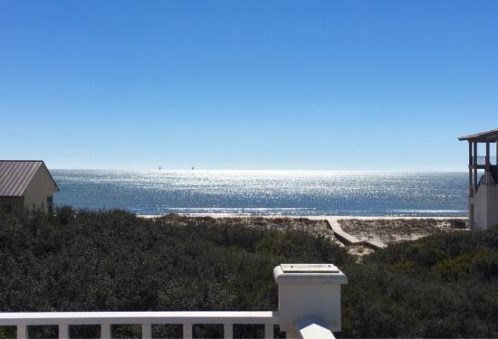 View from Aqua Sol master bedroom @ Kiva Dunes Resort