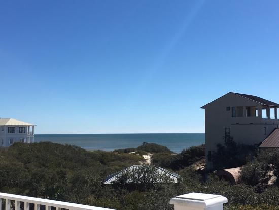 View from Aqua Sol master bedroom @ Kiva Dunes Resort