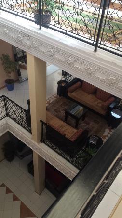Hotel Narjisse: Un endroit très calme et confortable, un personel très accueillant et attachant.