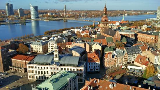 Riga from St.Peter's church
