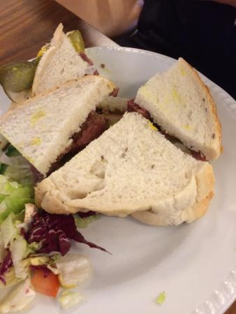 Cafe Bonito Salt Beef Sandwich