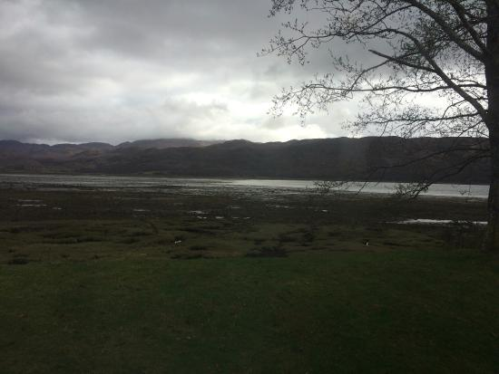 Lochcarron, UK: View from window