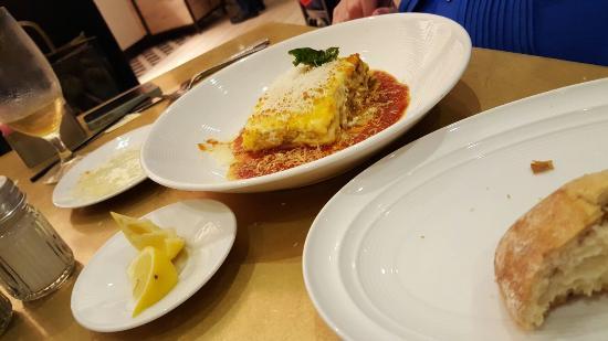 Lasagna big enough for two! - Picture of Vivo Italian Kitchen ...