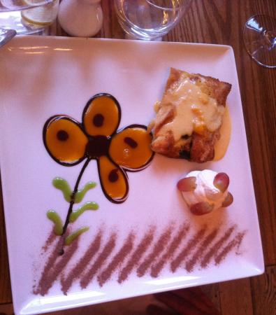 Compton, UK: Bread & Butter Pudding
