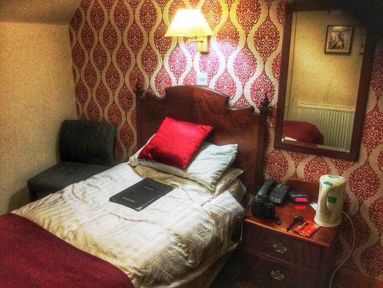Crianlarich, UK: Single room