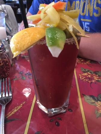 Vespaio: Bloody Mary Bliss