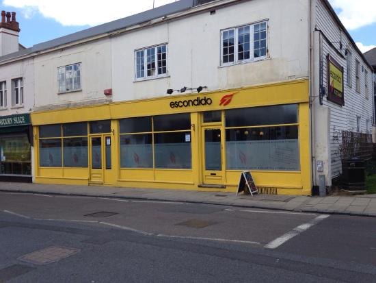Sandgate, UK: Facia