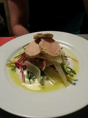 Cadenet, Prancis: Foie gras