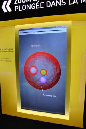 """Экспозиция """"Вселенная частиц"""", Европейский центр ядерных исследований (ЦЕРН): microcosmo"""