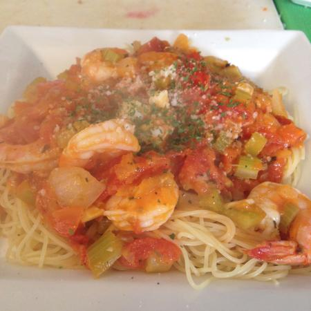 Verona Beach, NY: Delicious Pasta & Shrimp!