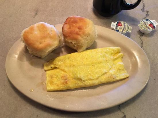 Manakin Sabot, VA: Western Omelette at Satterwhite's Restaurant