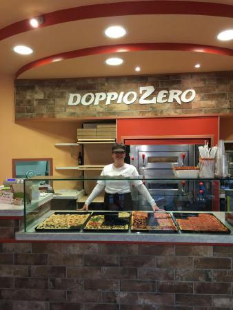 DoppioZero: Bruschetta  di pesce  super  pizza doc