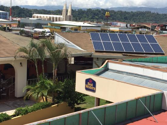 Best Western Hotel Zima : Sistema solar en 98%