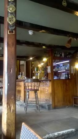 Coxwold, UK: The bar