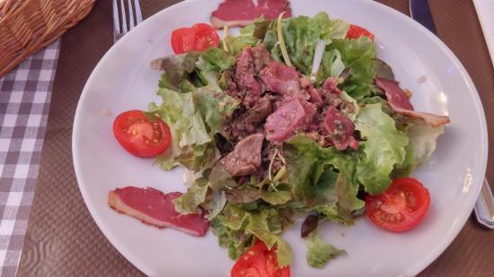 Carriere: Salade de gesier !!!!!