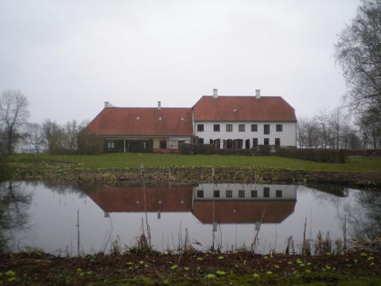 Rungsted, Dinamarca: Parte trasera de la casa