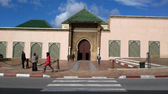 Mausoleum of Mouley Ismail: Acceso al mausoleo