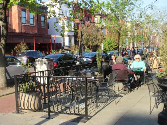 outside seating picture of cafe saint ex washington dc tripadvisor rh tripadvisor com
