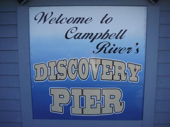 Campbell River, Canadá: WELCOME SIGN
