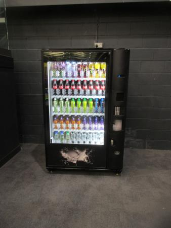 vending machine picture of base jump trampoline park rayleigh