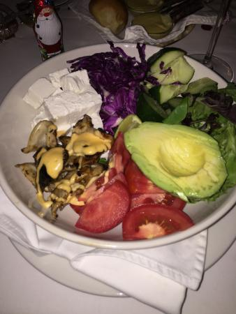 The Residence Boutique Hotel: Salad for main