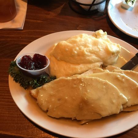 Kennedy's Pub Incorporated: Hot Roast Turkey Sandwich